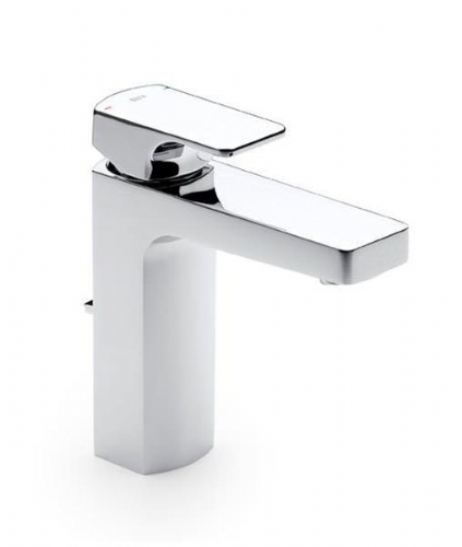 Roca L90 Basin Mixer Tap With Pop-Up Waste - Chrome